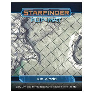 Paizo Publishing STARFINDER FLIP-MAT: ICE WORLD