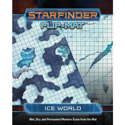 Paizo Publishing STARFINDER FLIP-MAT: ICE WORLD