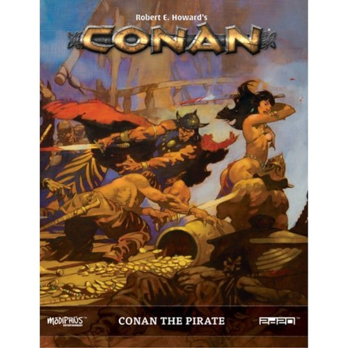 Modiphius CONAN: THE PIRATE SUPPLEMENT