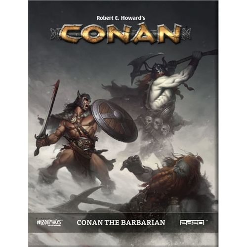 Modiphius CONAN: THE BARBARIAN SUPPLEMENT