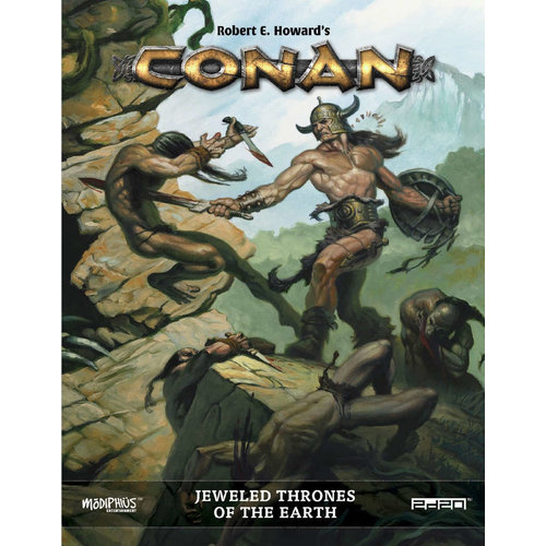 Modiphius CONAN: JEWELED THRONES OF THE EARTH SUPPLEMENT