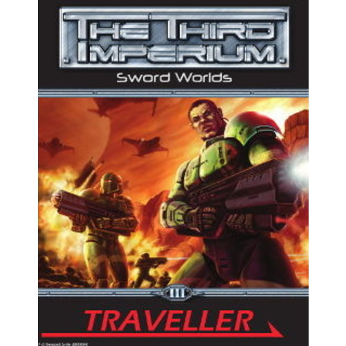 Mongoose Publishing TRAVELLER SWORD WORLDS