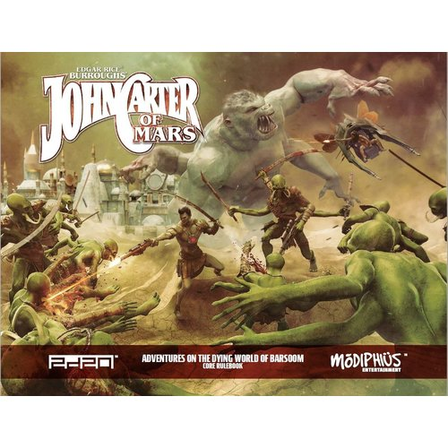 Modiphius JOHN CARTER OF MARS CORE