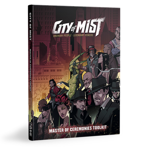 Modiphius CITY OF MIST: MC TOOLKIT