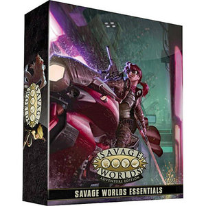 Pinnacle Entertainment Group SAVAGE WORLDS: ESSENTIALS BOX