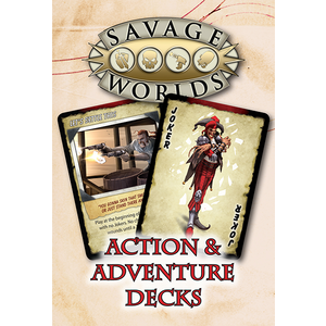 Pinnacle Entertainment Group SAVAGE WORLDS: ACTION DECK