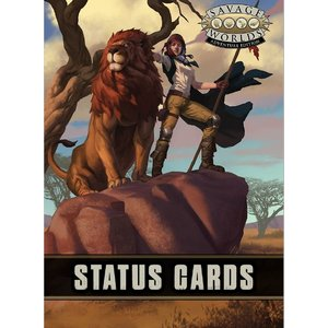 Pinnacle Entertainment Group SAVAGE WORLDS: STATUES CARDS
