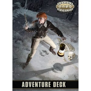 Pinnacle Entertainment Group SAVAGE WORLDS: ADVENTURE DECK
