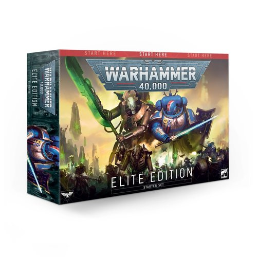 Games Workshop 40K (STARTER SET): ELITE EDITION