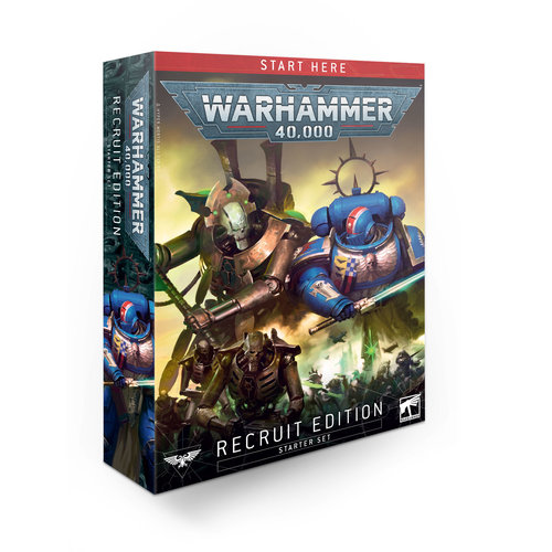 Games Workshop 40K (STARTER SET): RECRUIT EDITION