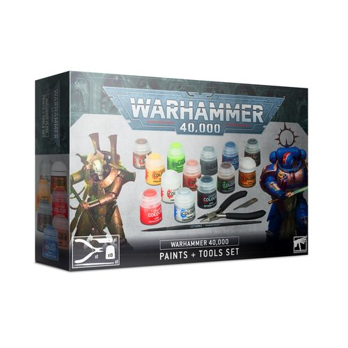 Games Workshop 40K PAINTS + TOOLS