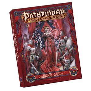 Paizo Publishing PATHFINDER 2ND EDITION: ADVENTURE PATH - CURSE OF THE CRIMSON THRONE (POCKET EDITION)
