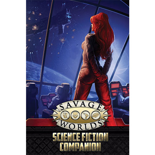 Pinnacle Entertainment SAVAGE WORLDS: SCIENCE FICTION COMPANION (2ND EDITION)