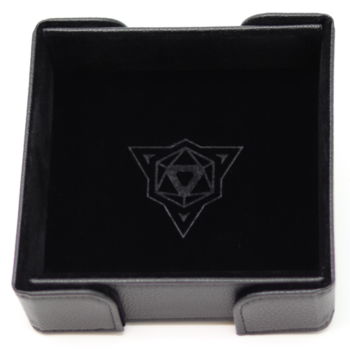 Die Hard Dice DICE TRAY: MAGNETIC BLACK SQUARE