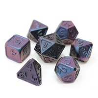 DREAMSCAPE DICE SET 7 LUNAR ABYSS