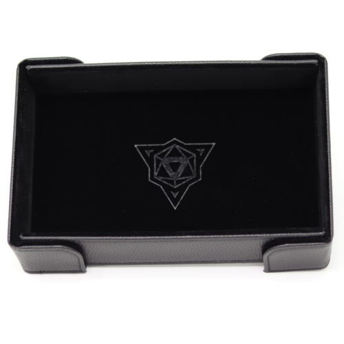 Die Hard Dice DICE TRAY: MAGNETIC BLACK RECTANGLE
