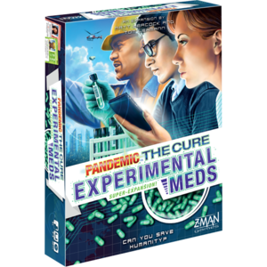 Z-Man Games PANDEMIC: THE CURE - EXPERIMENTAL MEDS