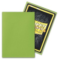 DECK PROTECTOR: DRAGON SHIELD: MATTE LIME (100)