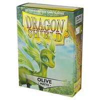 DECK PROTECTOR: DRAGON SHIELDS: OLIVE V2 (60)