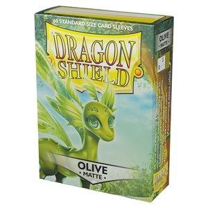 Arcane Tinmen DECK PROTECTOR: DRAGON SHIELDS: OLIVE V2 (60)