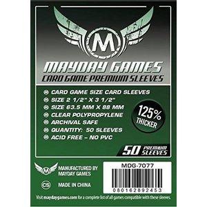 Mayday Games DECK PROTECTOR: PREMIUM: DARK GREEN - 63.5mm x 88mm (50)