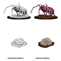 MINIS: D&D: GIANT SPIDER & EGG CLUTCH