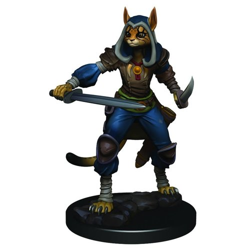 Wizkids MINIS: ICONS OF THE REALMS: TABAXI FEMALE ROGUE