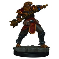 MINIS: ICONS OF THE REALMS: DRAGONBORN MALE FIGHTER (MACE)