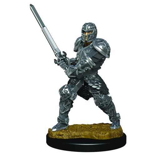 Wizkids MINIS: ICONS OF THE REALMS: HUMAN MALE FIGHTER