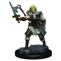 MINIS: ICONS OF THE REALMS: HUMAN FEMALE BARBARIAN