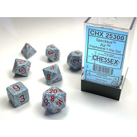 DICE SET 7 SPECKLED AIR