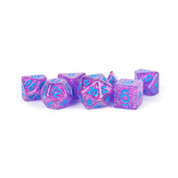 DICE SET 7 FLASH: PURPLE