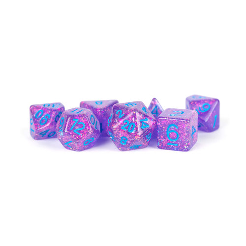 Metallic Dice Company DICE SET 7 FLASH: PURPLE