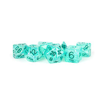 DICE SET 7 FLASH: TEAL