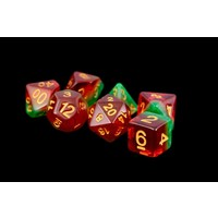 DICE SET 7 FRUIT WATERMELON