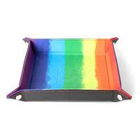 DICE TRAY FOLDING RECTANGLE RAINBOW