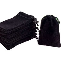 DICE BAG 5 x 7 CLOTH BLACK
