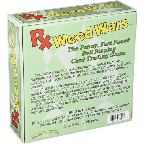 Play All Day Games RX WEED WARS