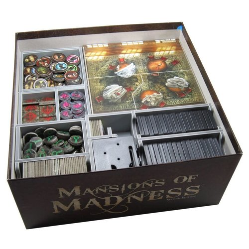 Folded Space BOX INSERT: MANSIONS OF MADNESS 2ND EDITION