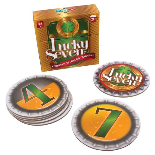 Family Games America LUCKY SEVEN COASTER GAME
