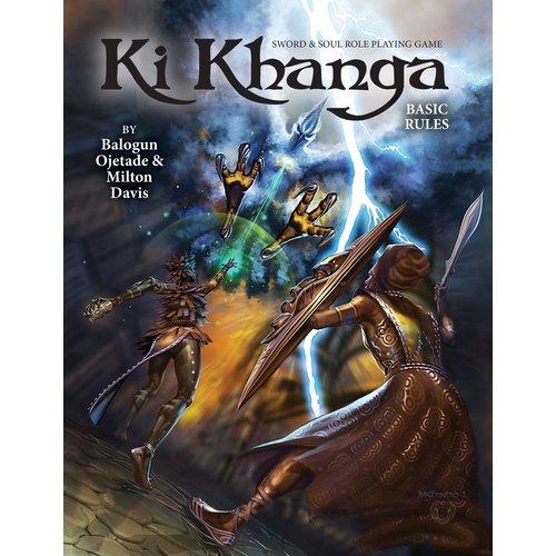Mvmedia LLC KI KHANGA SWORD & SOUL RPG 1st Ed