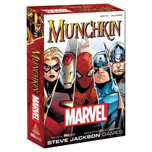 The Op | usaopoly MUNCHKIN MARVEL