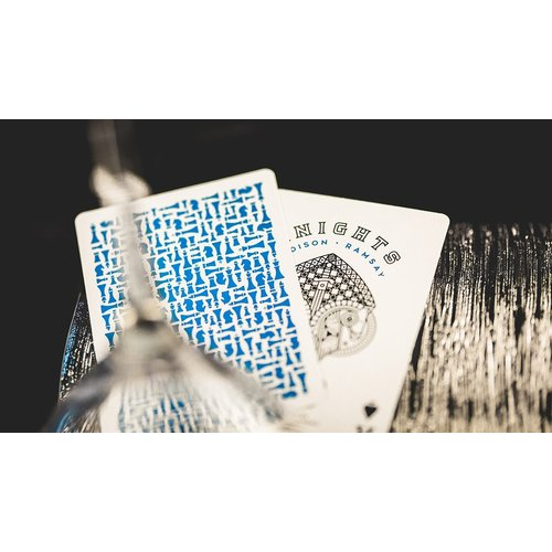 ELLUSIONIST ELLUSIONIST BLUE KNIGHTS PLAYING CARDS