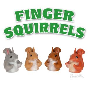 Archie McPhee FINGER SQUIRRELS