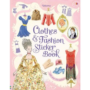 Usborne STICKER BOOK CLOTHES & FASHION