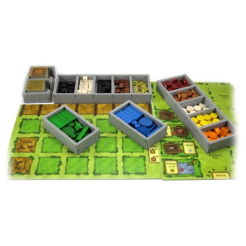 Folded Space BOX INSERT: AGRICOLA