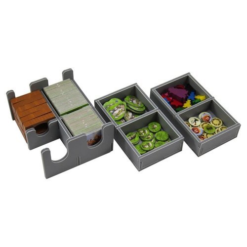Folded Space BOX INSERT: CARCASSONNE & EXPANSIONS