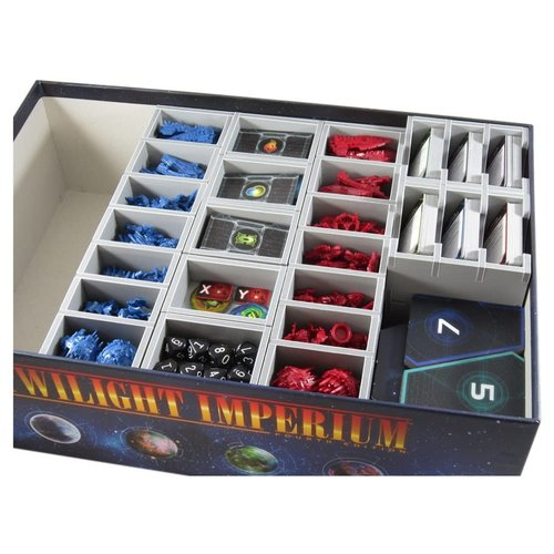 Folded Space BOX INSERT: TWILIGHT IMPERIUM 4 & EXPANSIONS