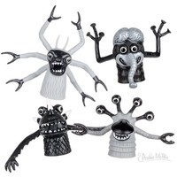 FINGER MONSTERS BLACK & WHITE