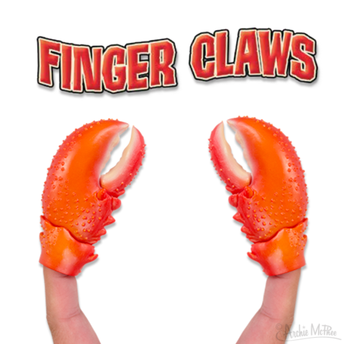 Archie McPhee FINGER LOBSTER CLAWS